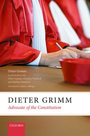 Cover for   Dieter Grimm