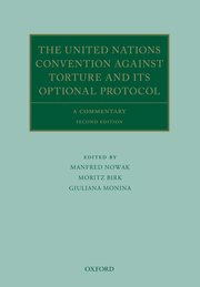 Cover for   The United Nations Convention Against Torture and its Optional Protocol