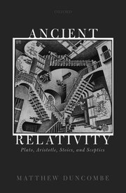 Cover for   Ancient Relativity