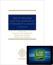 Cover for   The EU Treaties and the Charter of Fundamental Rights: Digital Pack