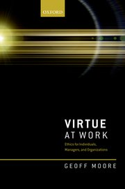 Cover for   Virtue at Work
