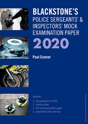 Cover for   Sergeants and Inspectors Mock Exam 2020