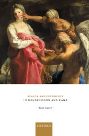 Cover for   Reason and Experience in Mendelssohn and Kant