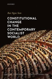Cover for   Constitutional Change in the Contemporary Socialist World