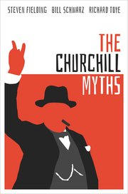Cover for   The Churchill Myths
