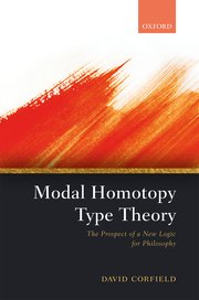Cover for   Modal Homotopy Type Theory