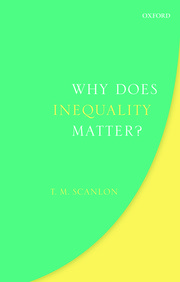 Cover for   Why Does Inequality Matter?
