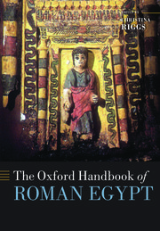 Cover for   The Oxford Handbook of Roman Egypt