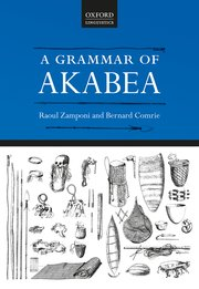 Cover for   A Grammar of Akabea