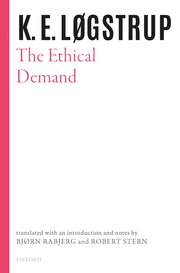 Cover for   The Ethical Demand