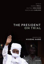 Cover for   The President on Trial