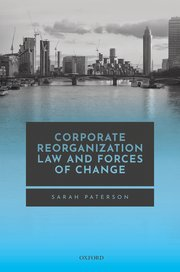 Cover for   Corporate Reorganisation Law and Forces of Change