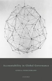 Cover for   Accountability in Global Governance