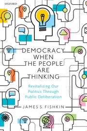 Cover for   Democracy When the People Are Thinking P
