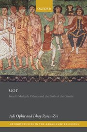 Cover for   Goy