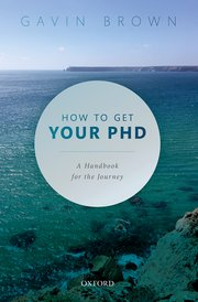 Cover for   How to Get Your PhD