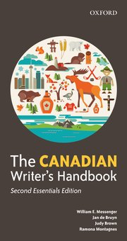 Cover for   The Canadian Writers Handbook