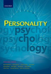 Cover for   Personality psychology