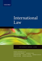 Cover for   International Law