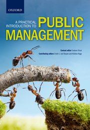 Cover for   A Practical Introduction to Public Management