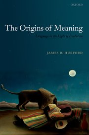 Cover for   The Origins of Meaning