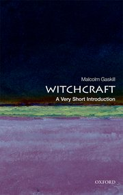 Cover for   Witchcraft: A Very Short Introduction