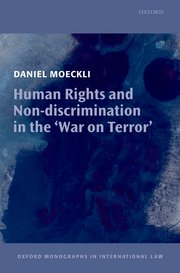 Cover for   Human Rights and Non-discrimination in the War on Terror