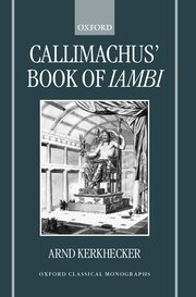Cover for   Callimachus Book of Iambi