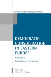 Cover for   Democratic Consolidation in Eastern Europe