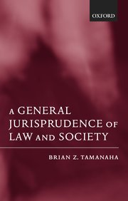 Cover for   A General Jurisprudence of Law and Society
