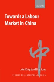 Cover for   Towards a Labour Market in China