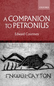 Cover for   A Companion to Petronius