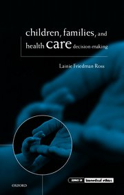 Cover for   Children, Families, and Health Care Decision Making