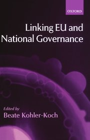 Cover for   Linking EU and National Governance
