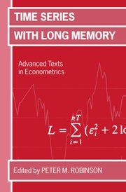 Cover for   Time Series with Long Memory