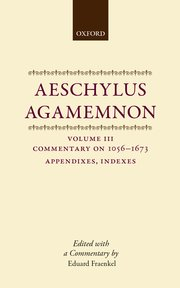 Cover for   Aeschylus: Agamemnon