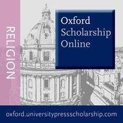 Cover for   Oxford Scholarship Online - Religion
