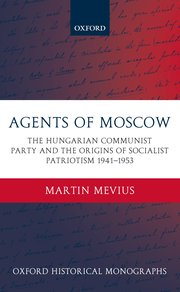 Cover for   Agents of Moscow
