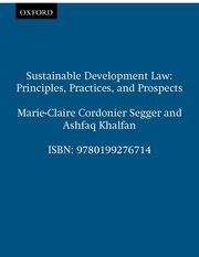 Cover for   Sustainable Development Law