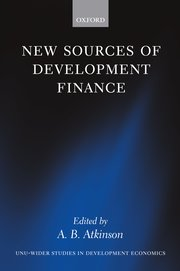 Cover for   New Sources of Development Finance