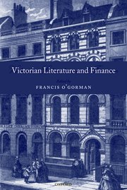 Cover for   Victorian Literature and Finance