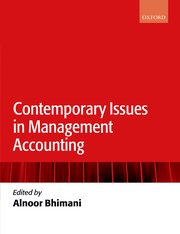 Cover for   Contemporary Issues in Management Accounting