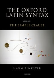 Cover for   Oxford Latin Syntax