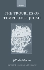 Cover for   The Troubles of Templeless Judah