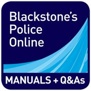 Cover for   Blackstones Police Manuals and Q&As Online Combined
