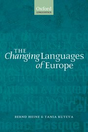 Cover for   The Changing Languages of Europe