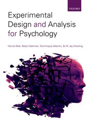 Cover for   Experimental Design and Analysis for Psychology