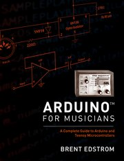 Cover for   Arduino for Musicians