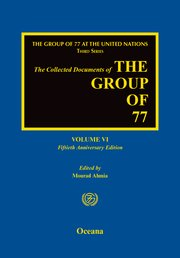 Cover for   The Collected Documents of the Group of 77