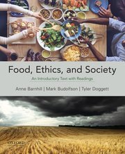 Cover for   Food, Ethics, and Society